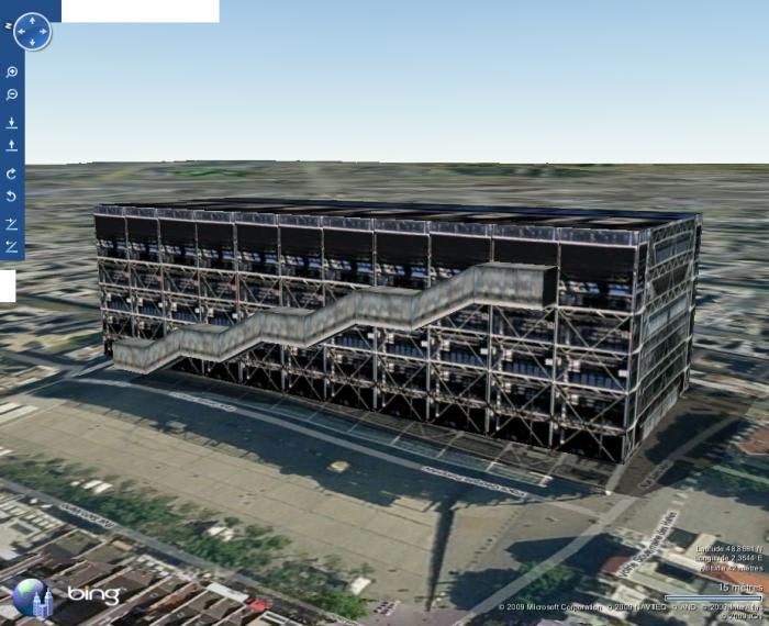 Bing Maps 3D (ex Virtual Earth 3D)