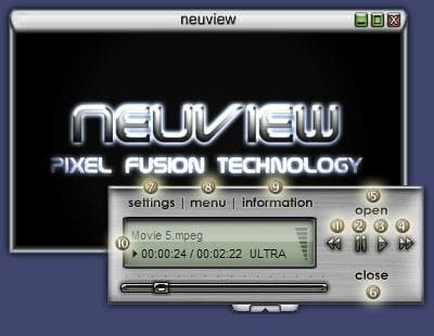 neuview media player professional