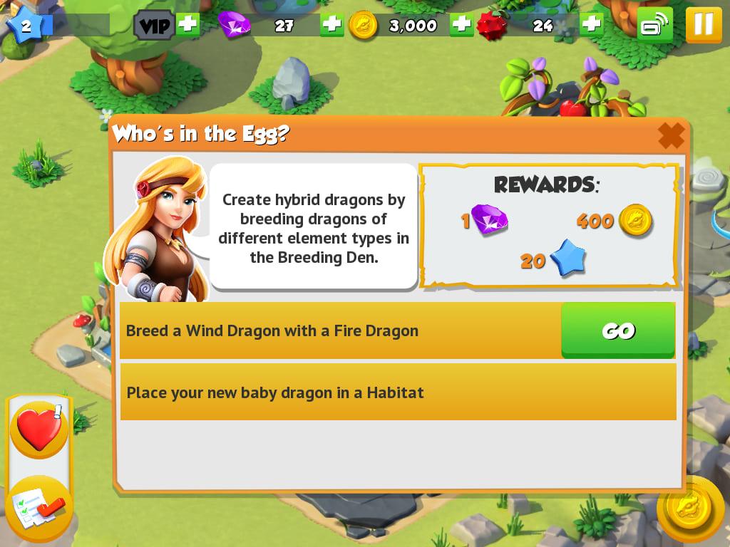 Dragon Mania Legends na Windows 10