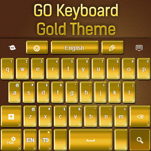 GO Keyboard Gold Theme