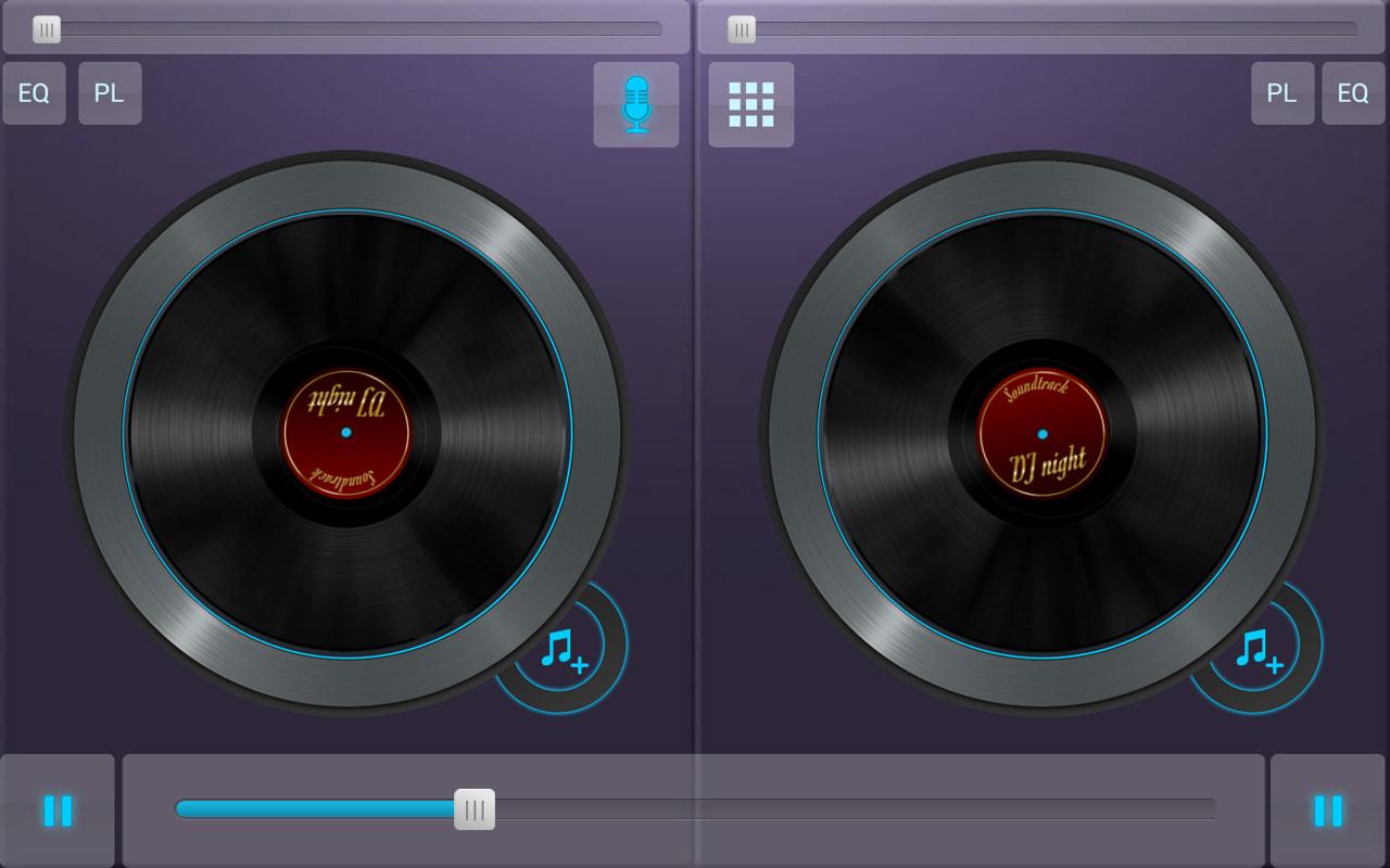 DJ Music Mixer Sound Studio