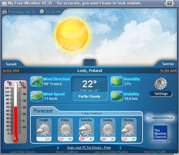 My Free Weather