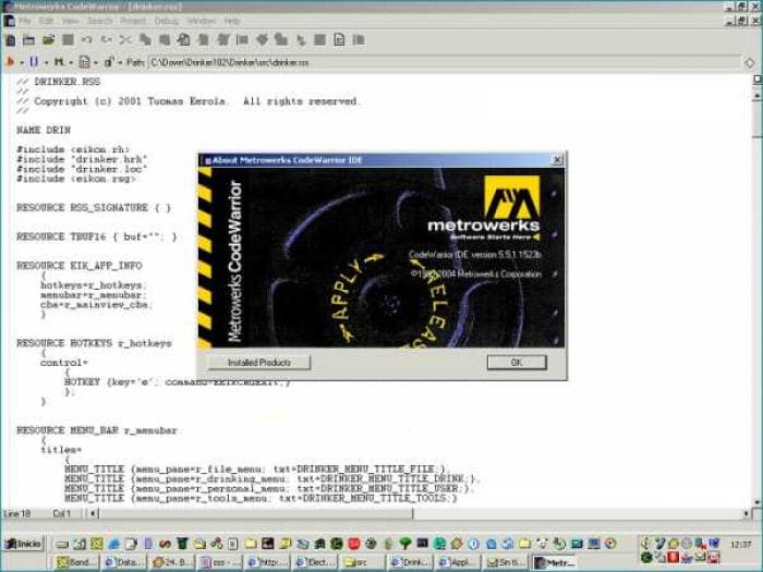 CodeWarrior Development Studio
