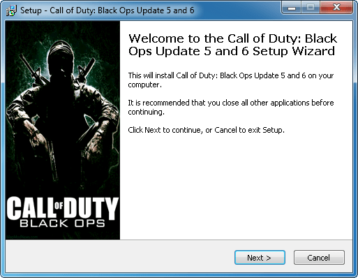 Call of Duty Black Ops Patch