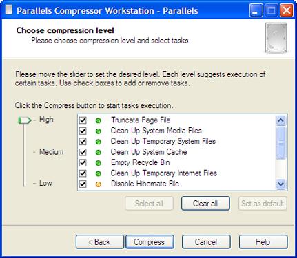 Parallels Compressor Workstation