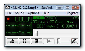 StepVoice Recorder