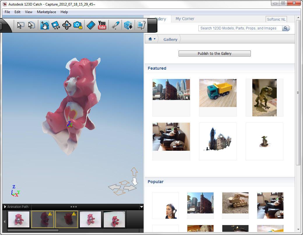 Autodesk 123D Catch
