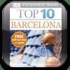Barcelona DK Eyewitness Top 10 Travel Guide & Map