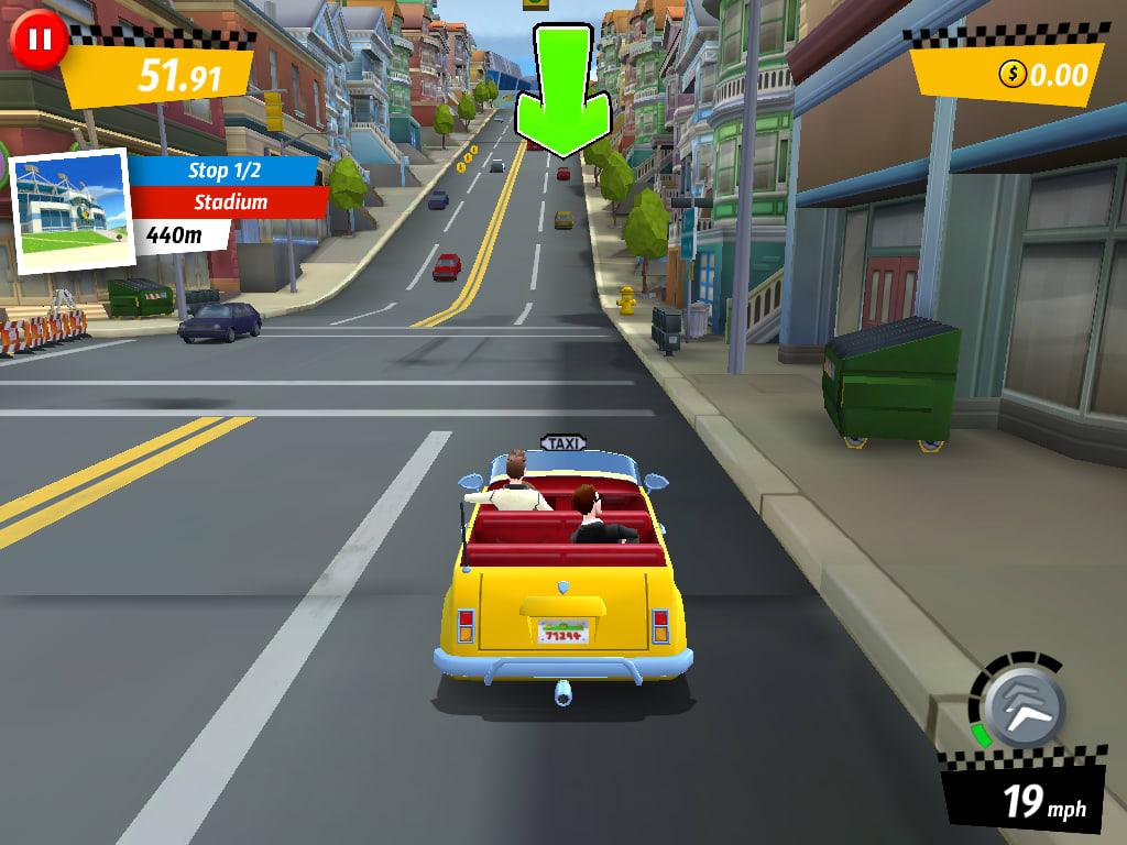 Crazy Taxi: City Rush