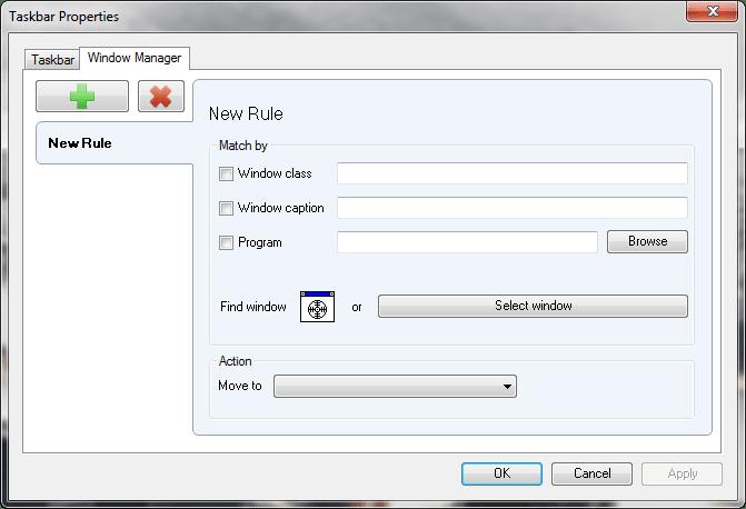 Dual Monitor Taskbar