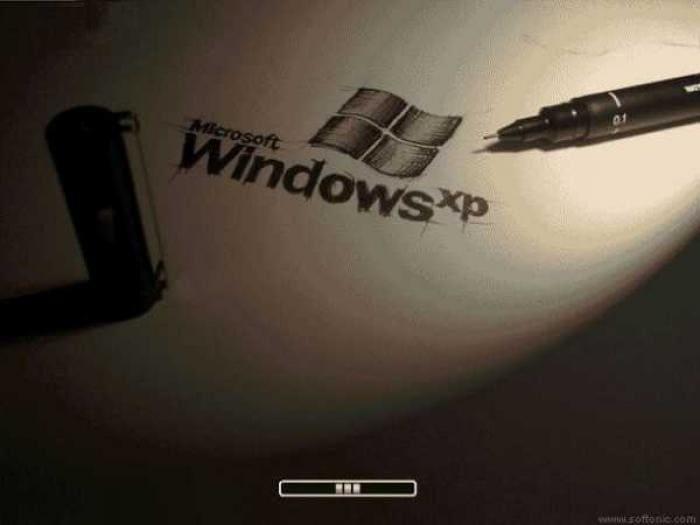 XP Draw Boot Screen