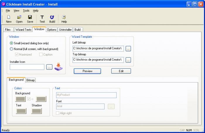 Clickteam Install Creator