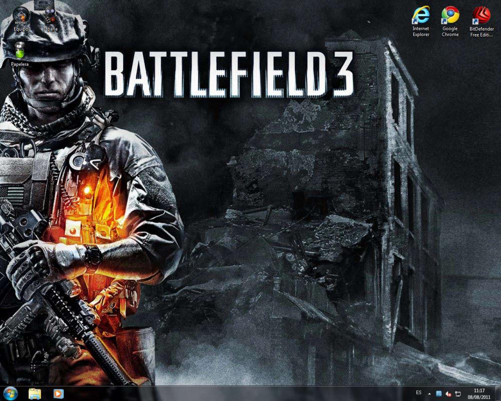 Tema Battlefield 3