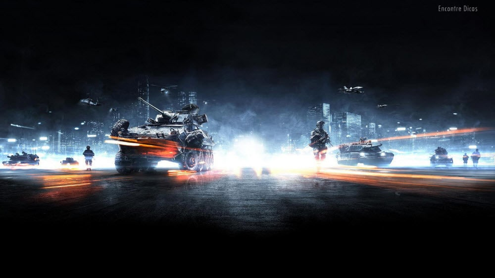 Battlefield 3 Windows 7 Theme