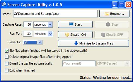 Screen Capture Utility