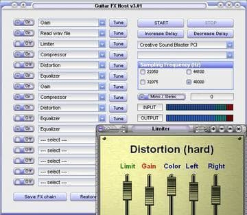 Guitar Effects Processor Pro (GuitarFX)