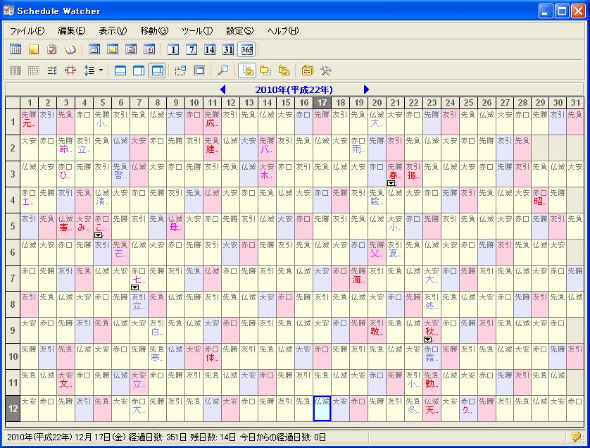 Schedule Watcher