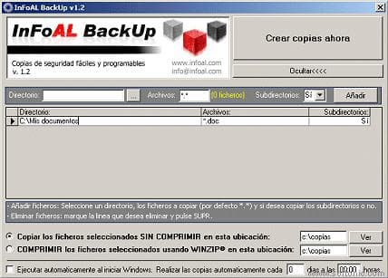InFoAl BackUp