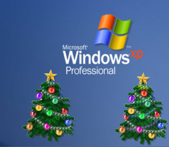 Animated Christmas Tree for Desktop