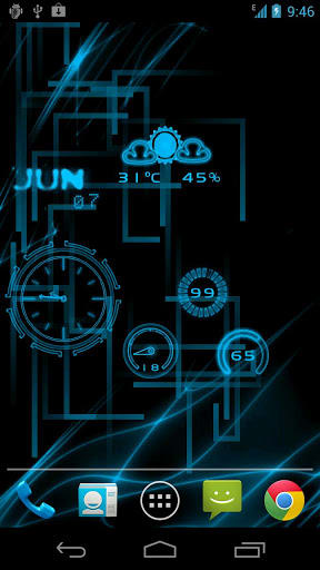 Neon clock gl live wallpaper for android neon clock gl live wallpaper voltagebd Choice Image