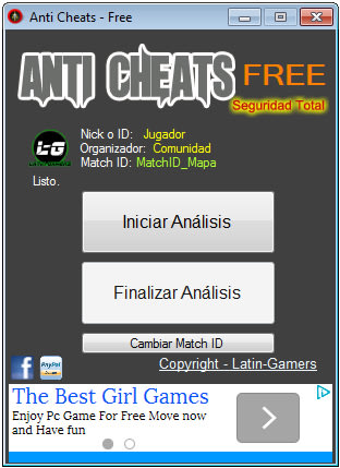 Anti Cheats Free