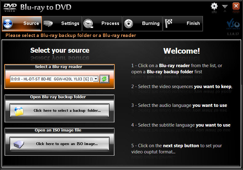 VSO Blu-ray to DVD Converter
