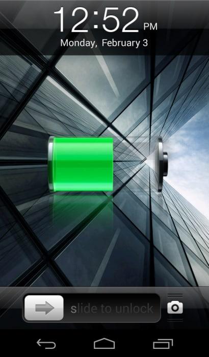 iPhone 5s Lock Screen