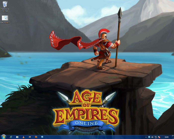 Age of Empires Online Tema para Windows 7