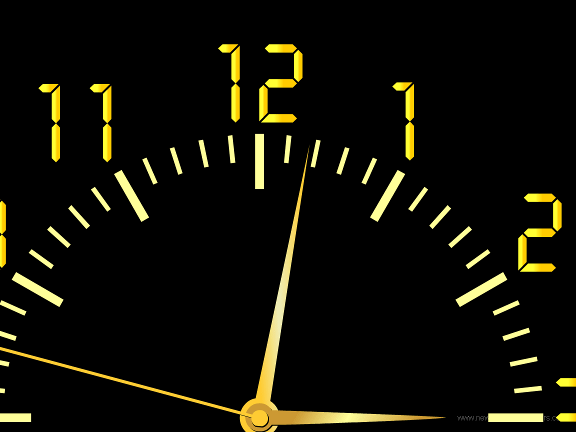 NFS Car Clock Screensaver