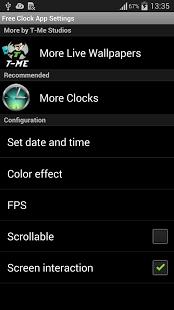 App Reloj libre