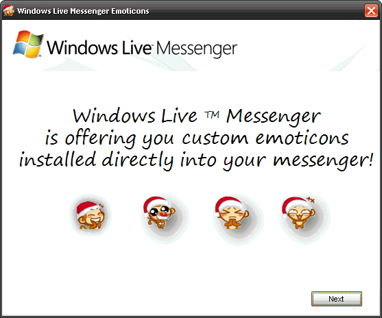 Windows Live Messenger Emoticons
