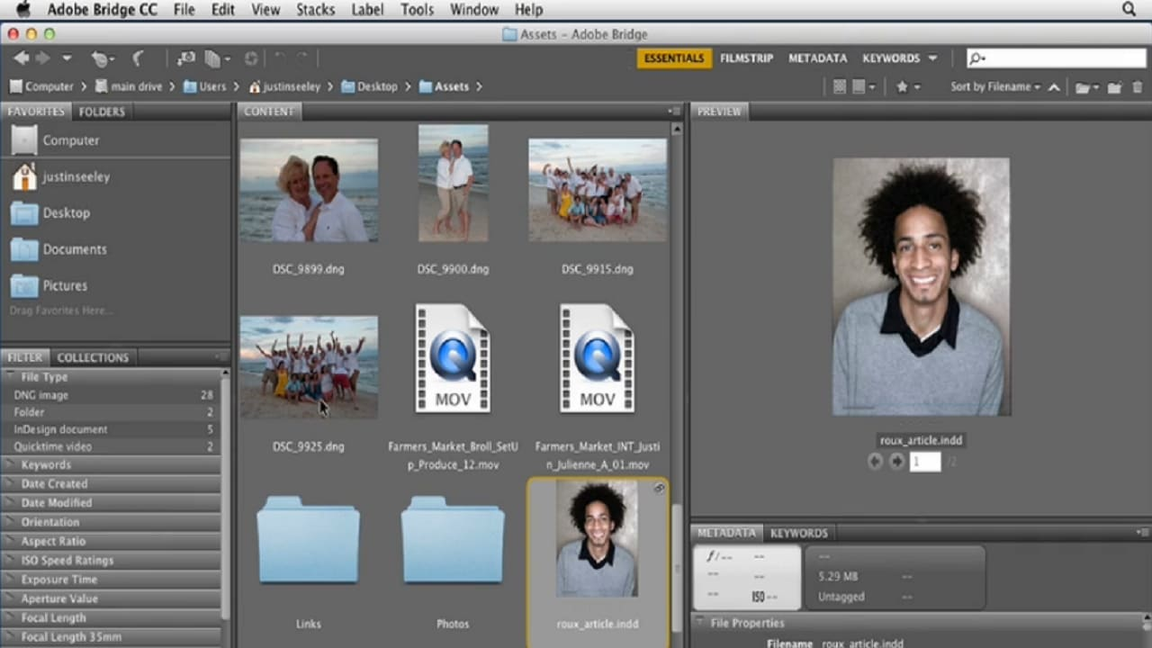 Adobe Bridge CC