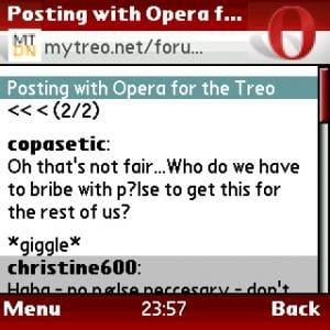 Opera Mini en français