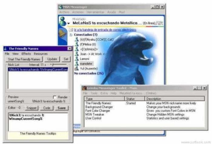 Grimbo Messenger Toolkit