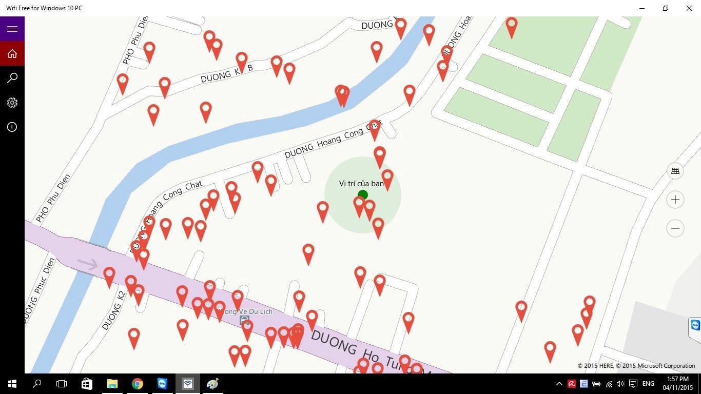 Wifi Map Windows 10