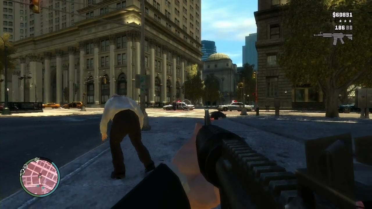 GTA IV First Person Mod