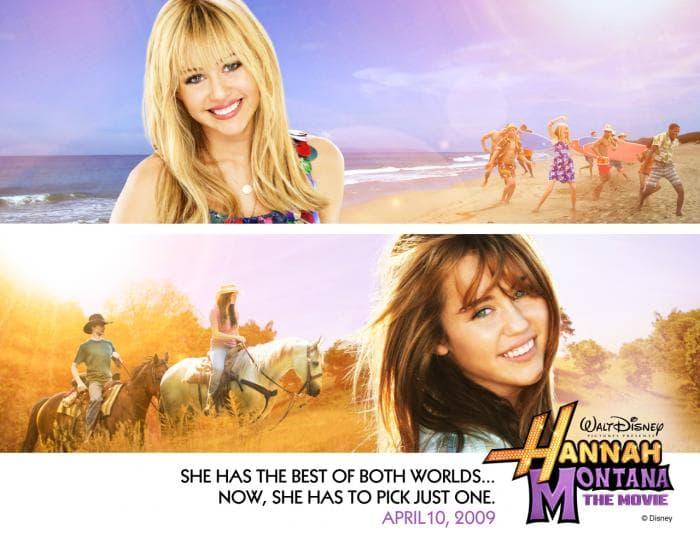 Hannah Montana Fond d'écran