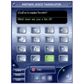 ECTACO Voice Translator English - Spanish