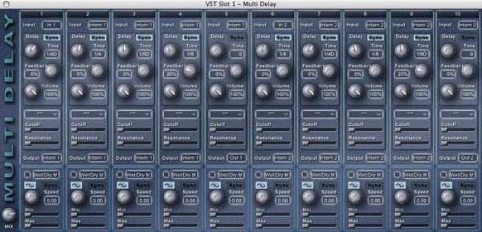 Multi Delay (plug-in VST)
