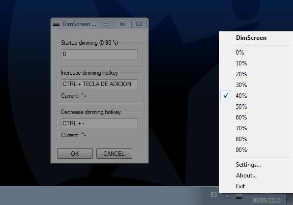 DimScreen