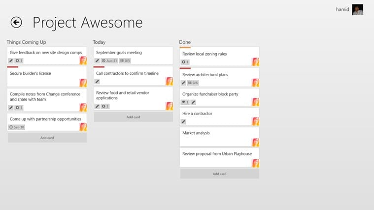 Trello for Windows 10