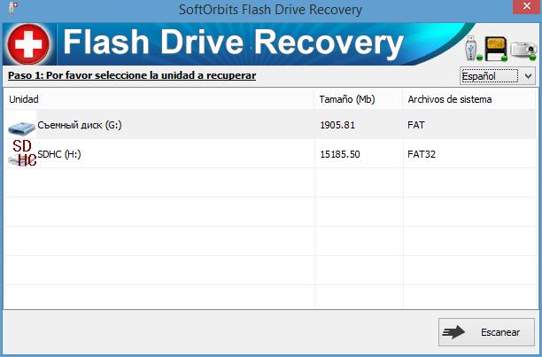 SoftOrbits Flash Drive Recovery