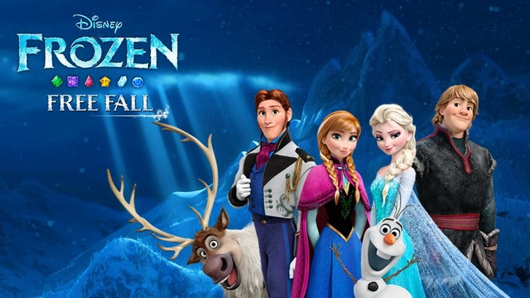 Frozen Free Fall pour Windows 10