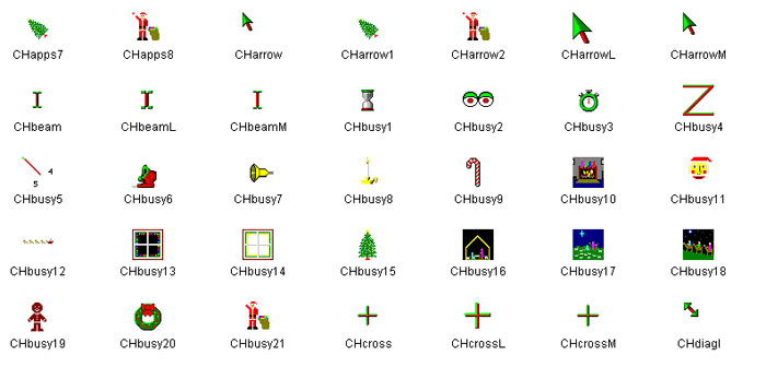 Christmas Animated Cursors