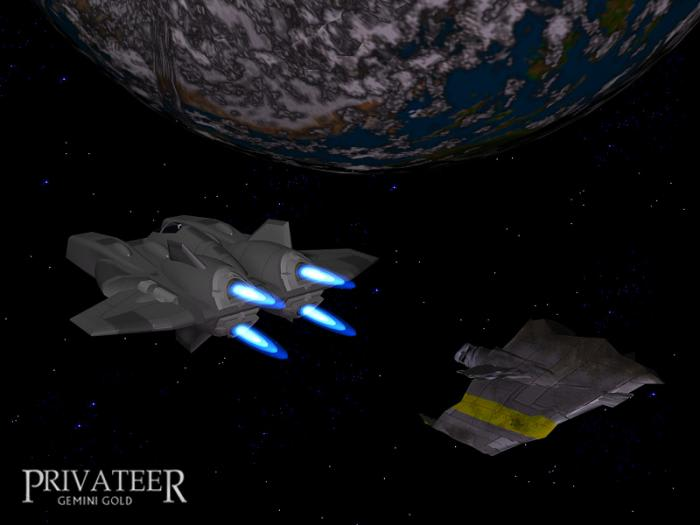 Wing Commander Privateer Gemini Gold