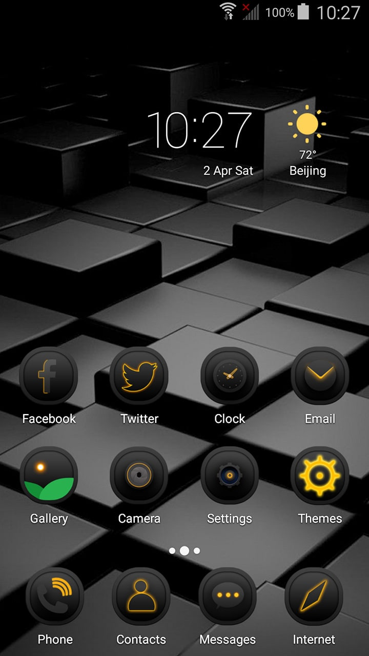 Black Box Theme