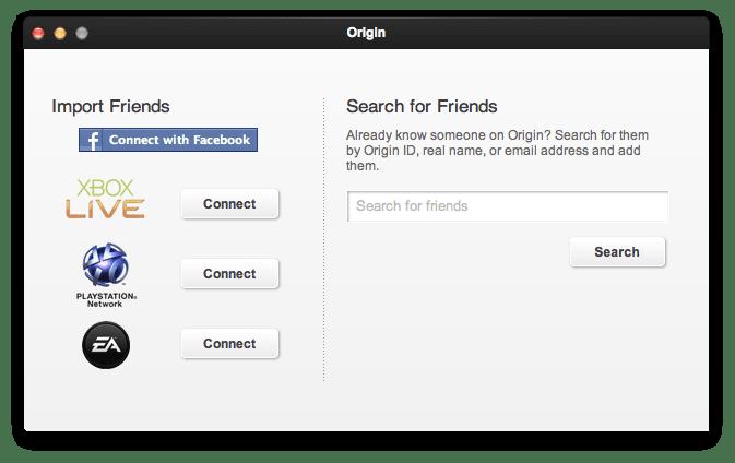 how to delete orgin of mac