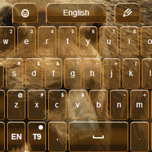GO Keyboard Bear Themes Free