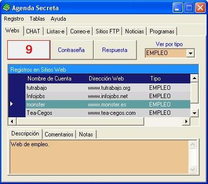 AgendaSecreta