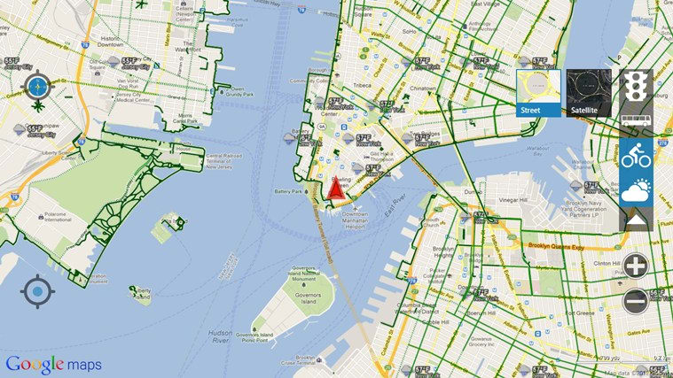 gMaps for Windows 10